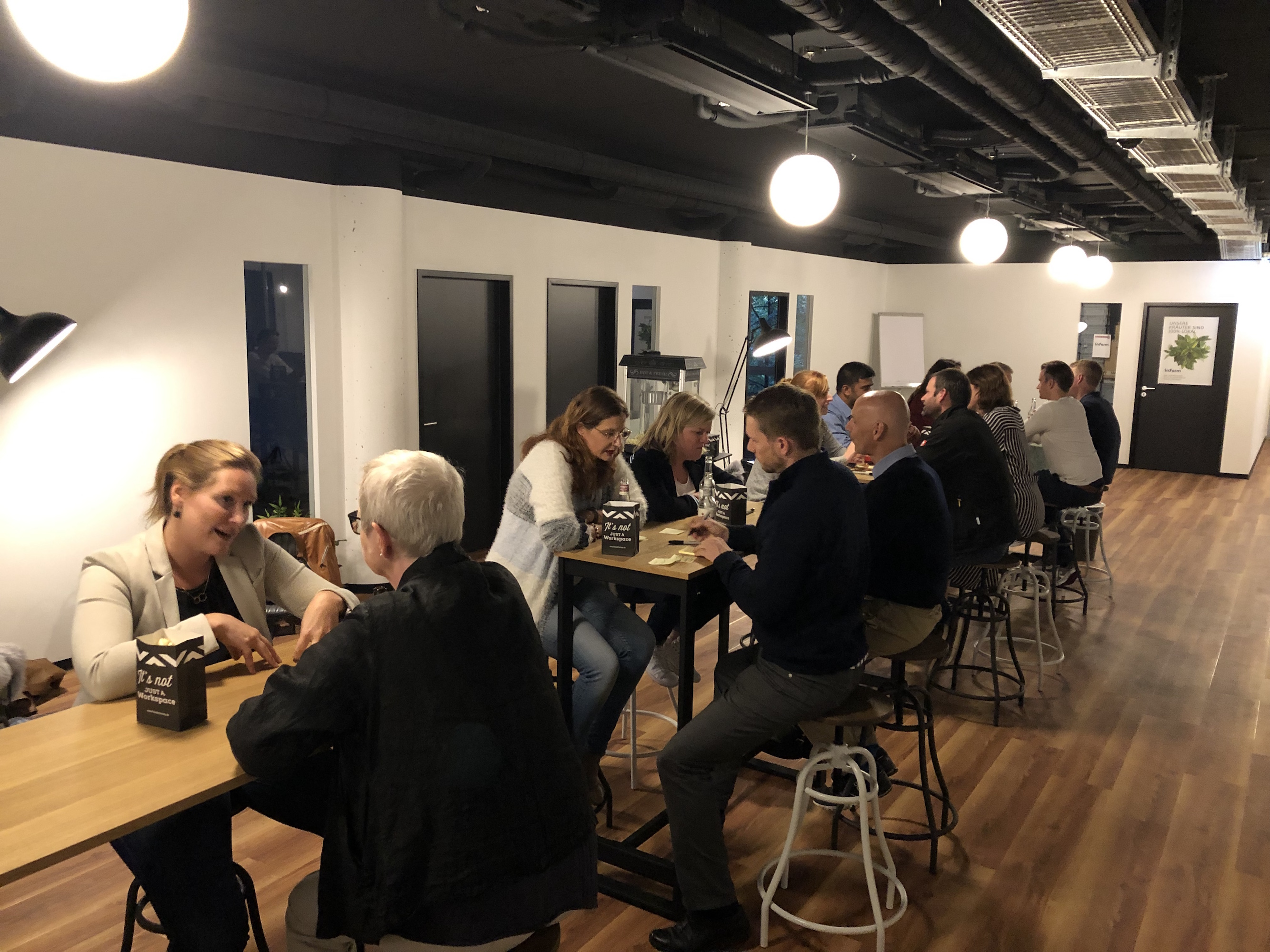 LeanSpeedDating in der Friendsfactory in Düsseldorf