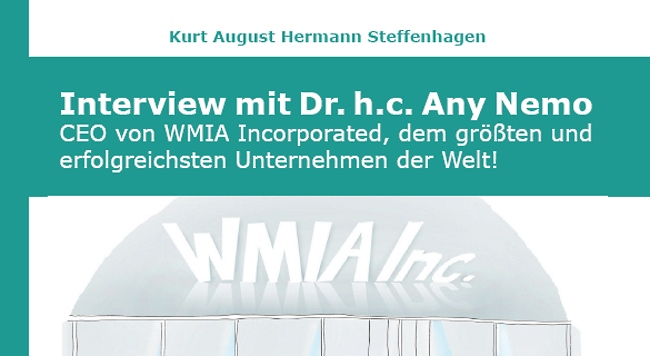 Interview mit Dr. h.c. Any Nemo - Band 1