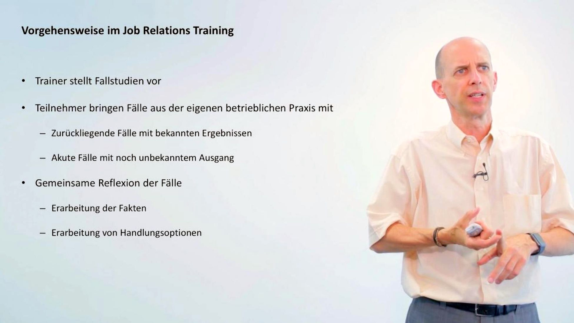 Modul 7: Job Relations Training