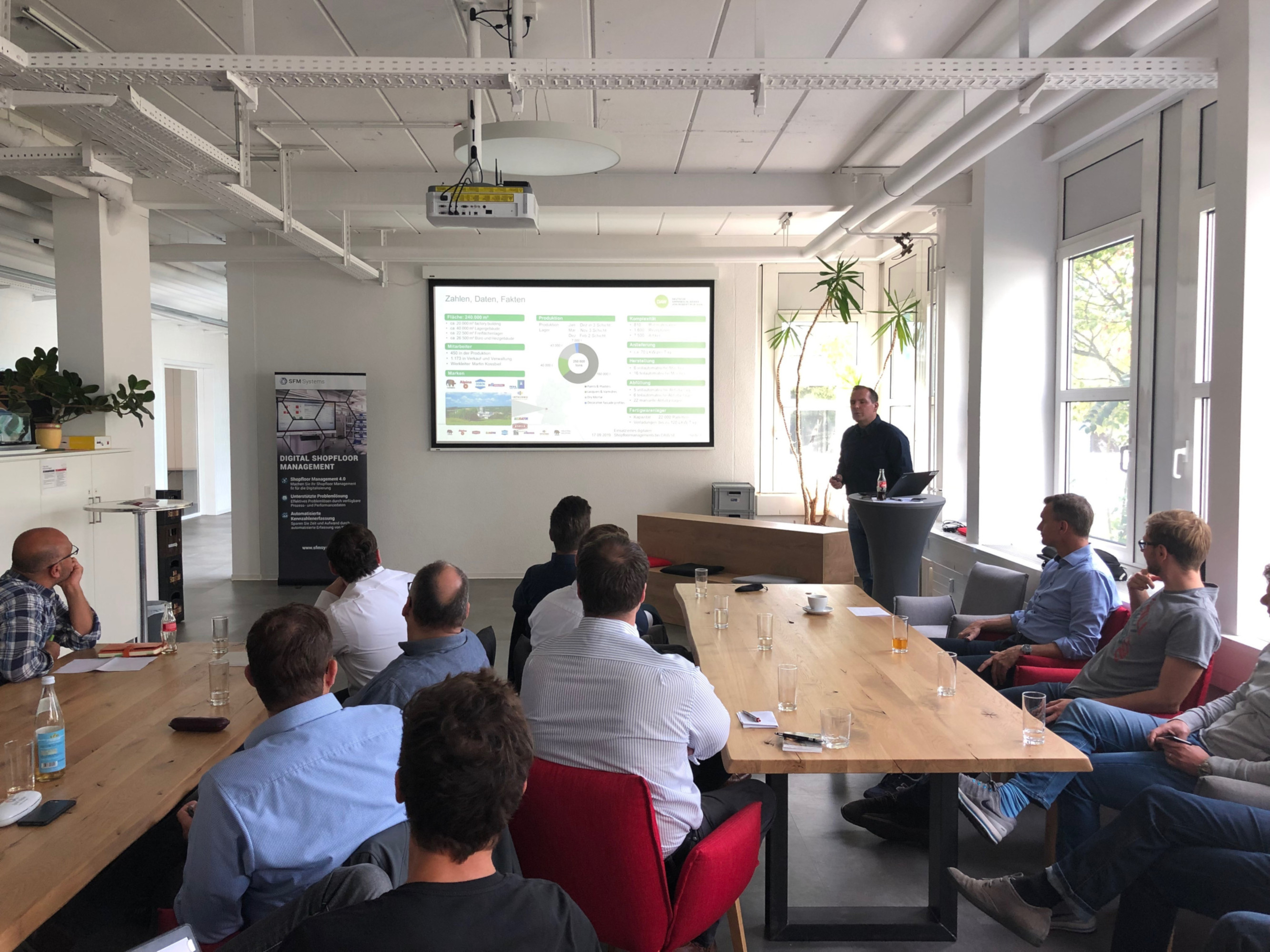 Lean& Industrie 4.0 Meetup zum Thema digitales Shopfloor Management