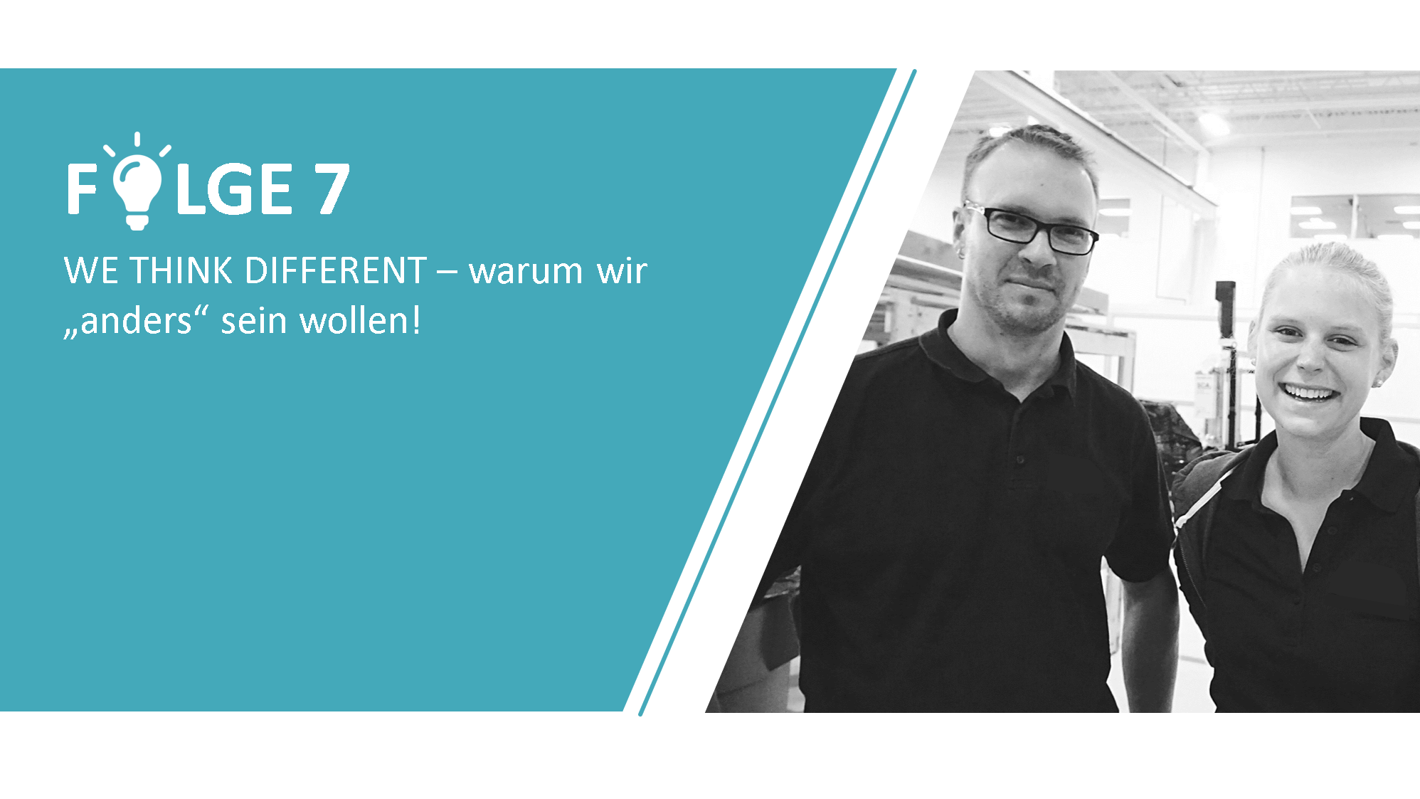 "#7 - WE THINK DIFFERENT – warum wir ""anders"" sein wollen!"