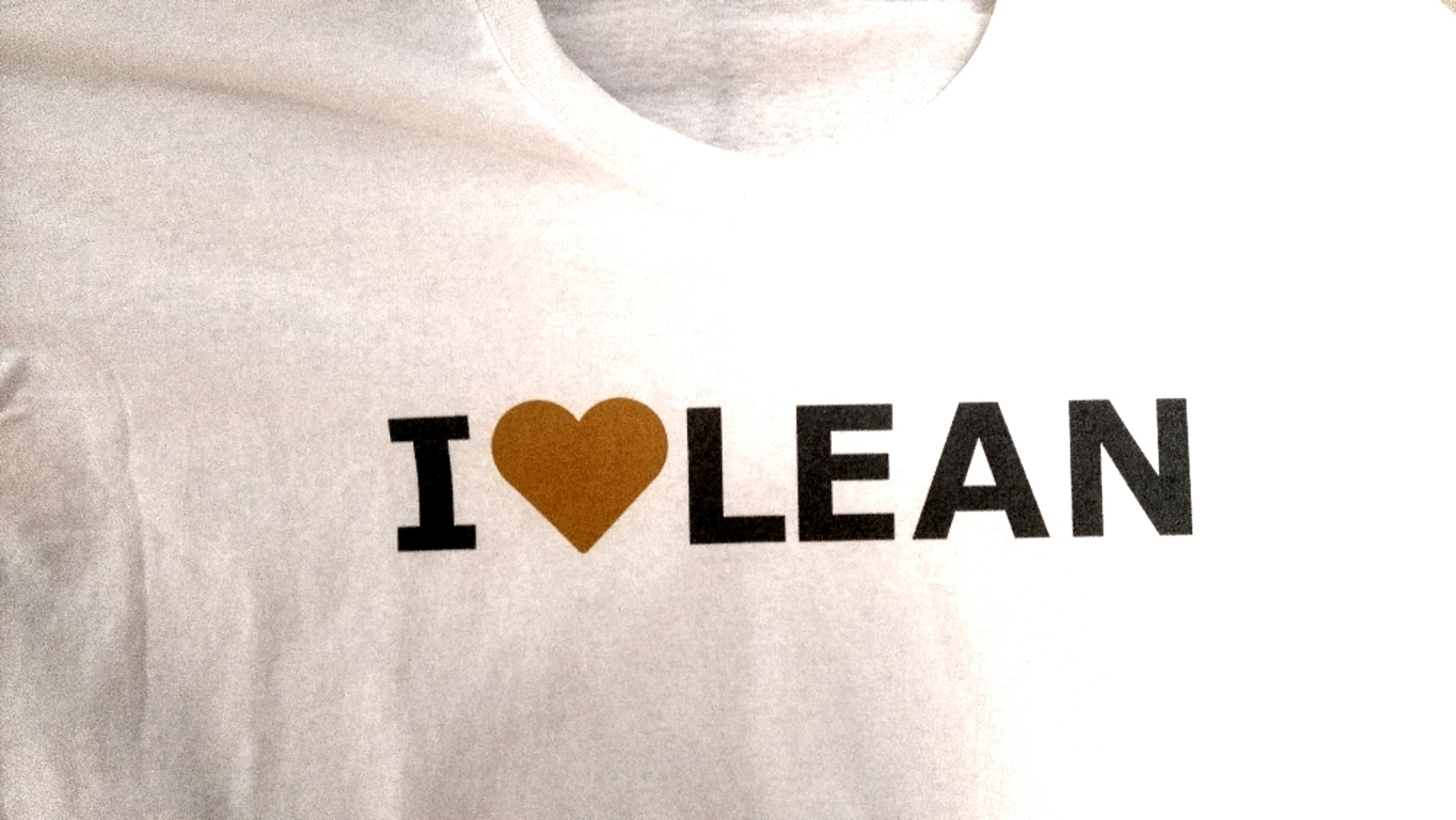 "T-Shirt ""I Love Lean"""